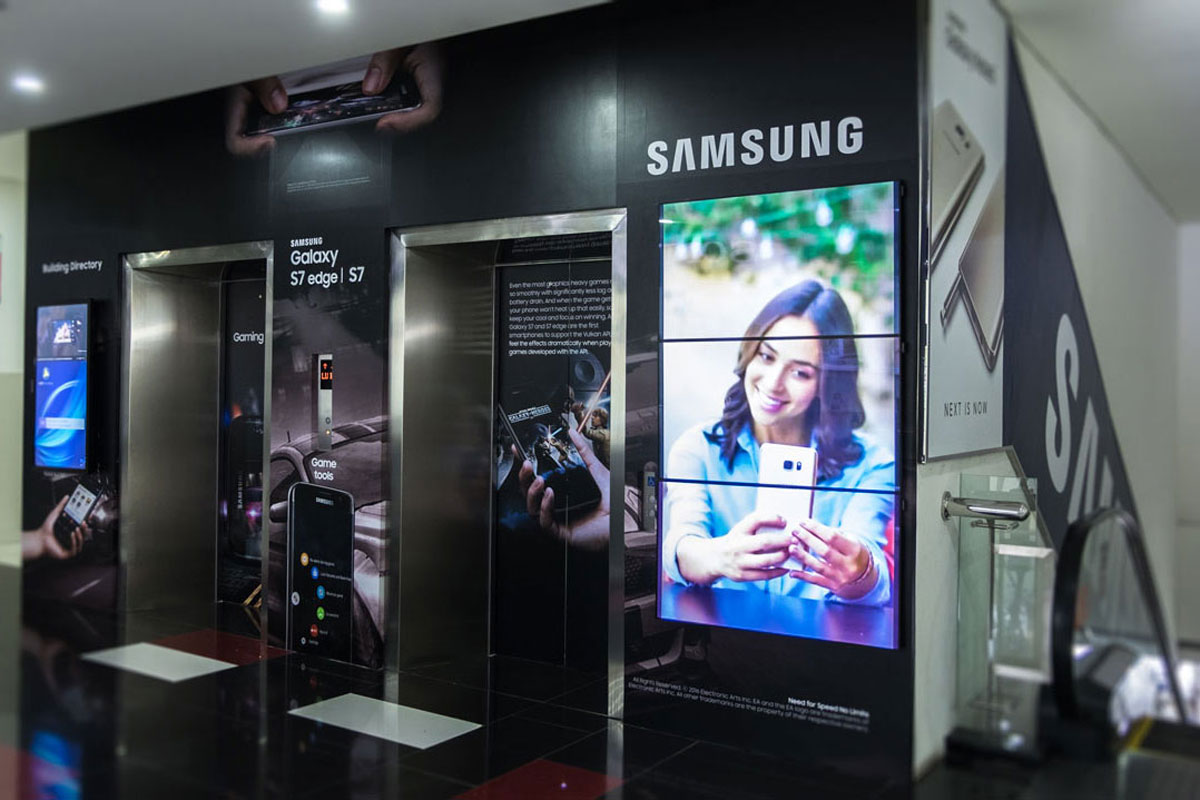 Samsung Mall Branding – BEC 2 Bandung