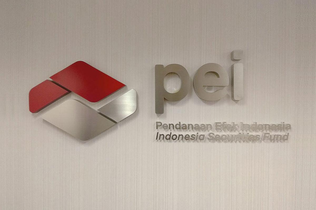Pendanaan Efek Indonesi (PEI) Office Lobby Signage