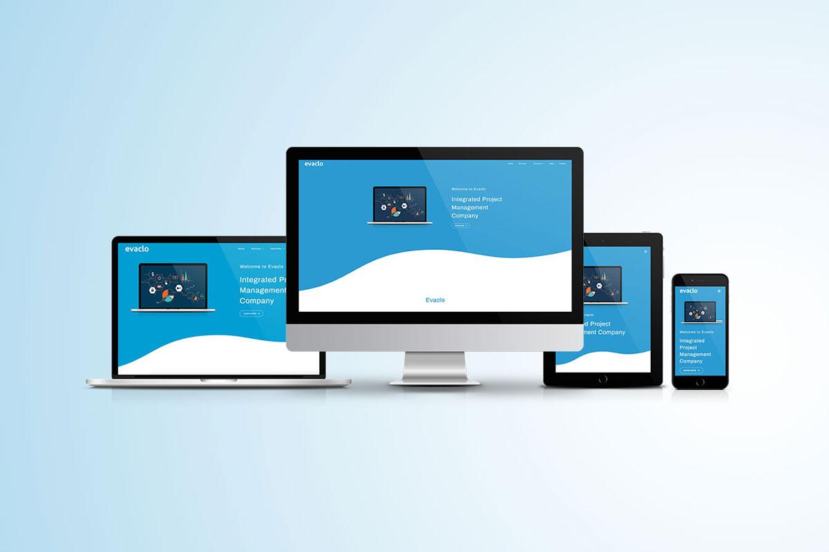 Evaclo Company Profile Website